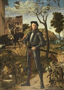 Vittore Carpaccio, Young Knight in a Landscape, 1510